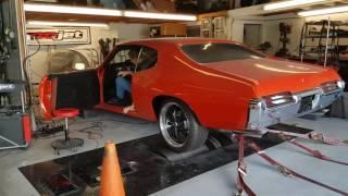 1969 Pontiac GTO Supercharged LS6 Dyno