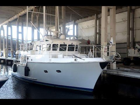 43' Nordhavn Full Displacement Trawler WANDERER - Bradford Marine Yacht Sales