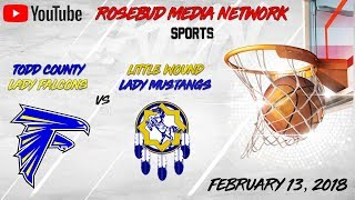 Todd County Lady Falcons VS Little Wound Lady Mustangs