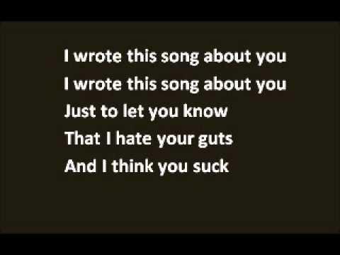Your Guts (I Hate em) Lyrics