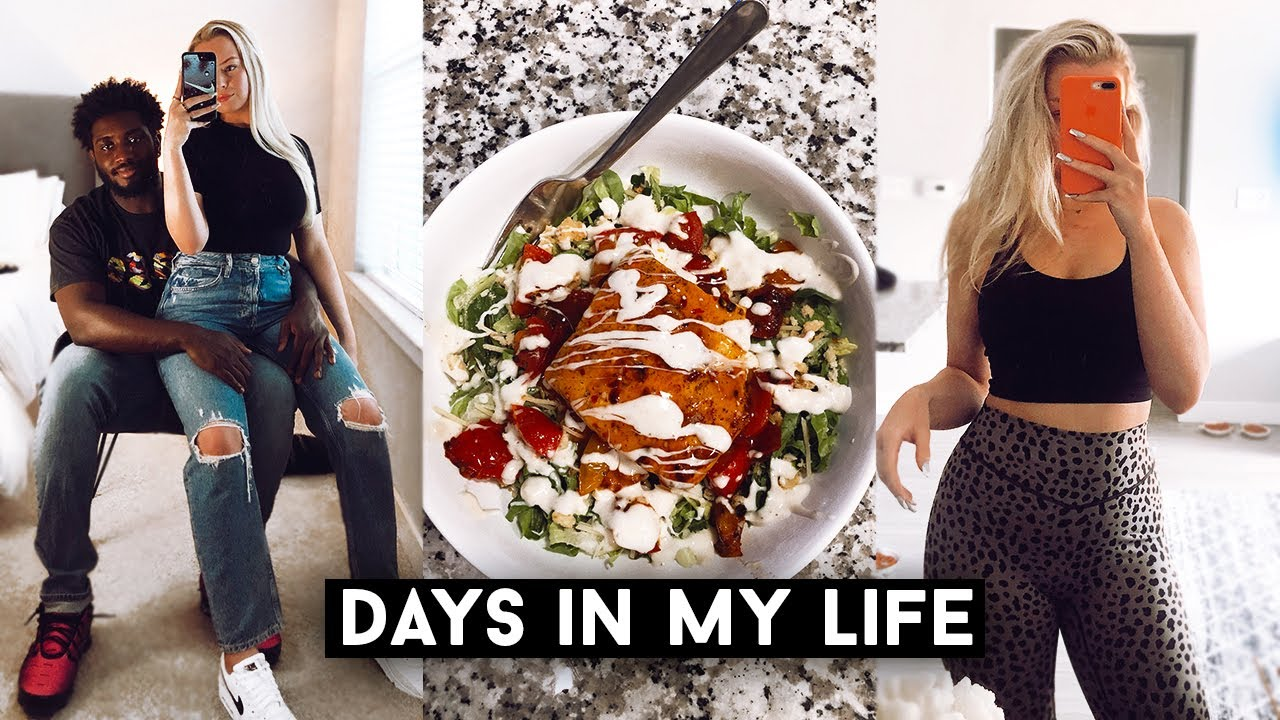 VLOG: i'm back!!!!!, grocery haul, my new hair, what i've been up to