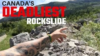 Canada's Deadliest Rockslide | Small Town Van Life