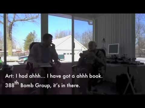 Arthur Potter Jr. Interview 388th Bomb Group WWII B-17 Tail Gunner Part 1