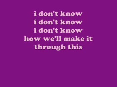 scouting for girls - she's so lovely lyrics