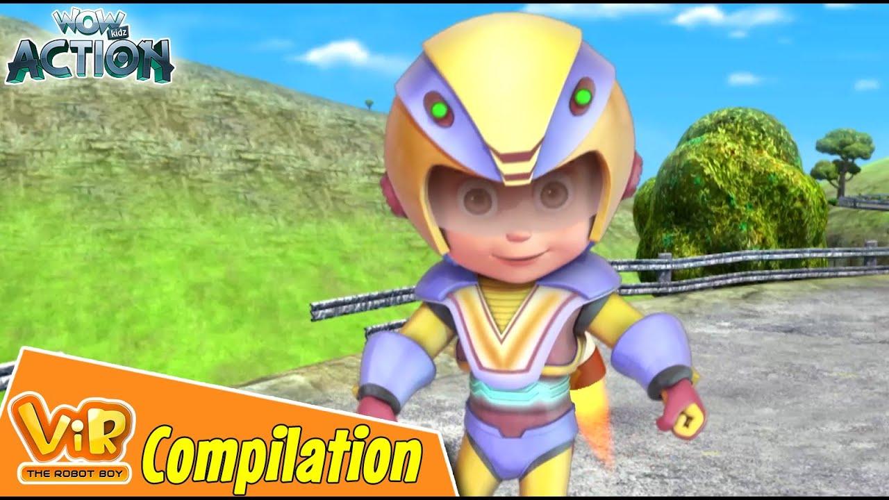 Best Episodes Of Vir The Robot Boy | Cartoon For Kids | Compilation 84 | Wow Kidz Action