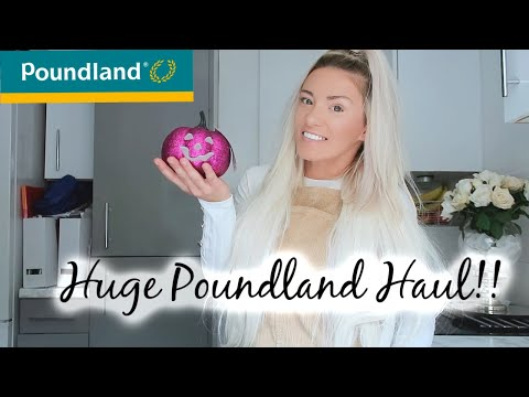 HUGE POUNDLAND HAUL | SEPTEMBER 2019 | WHATS NEW IN POUNDLAND AUTUMN EDITION