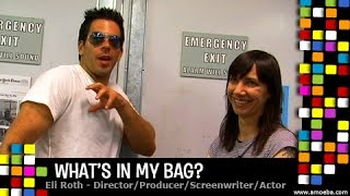 Eli Roth - What's In My Bag?