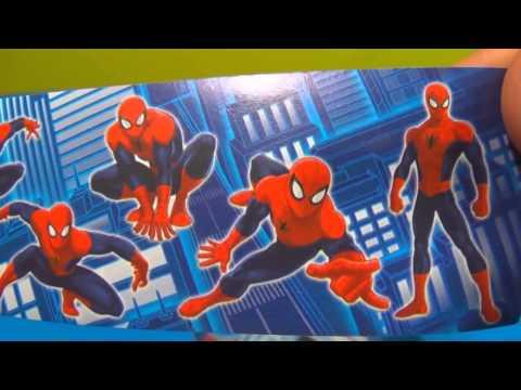 Бесплатные игры онлайн  Человек Паук игрушка, Киндер Сюрприз, игры для детей