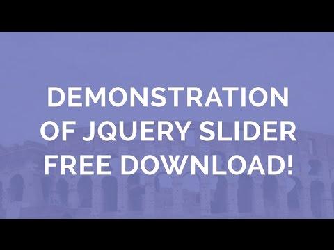 Free Slider - jQuery Slider Free Download