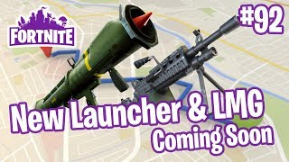 Roadmap 5/4 | HackSAW LMG, Quad Launcher, Perk Recombobulator | Fortnite #92