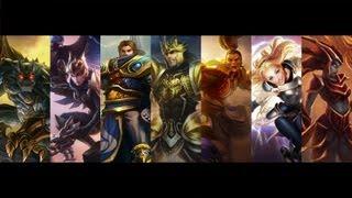 The Demacians - Jarvan, Garen, Xin Zhao, Lux, Quinn, Galio, Shyvana [League of Legends 音 MAD mix]