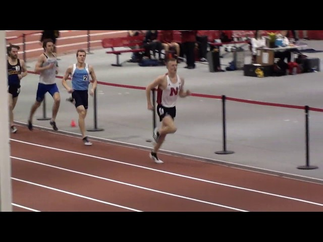 2019 Husker Invite - Men's Mile Run - Heat 1