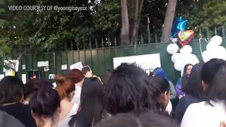 SHINee fans from Chile sing 'Replay' as they mourn loss of Kim Jonghyun