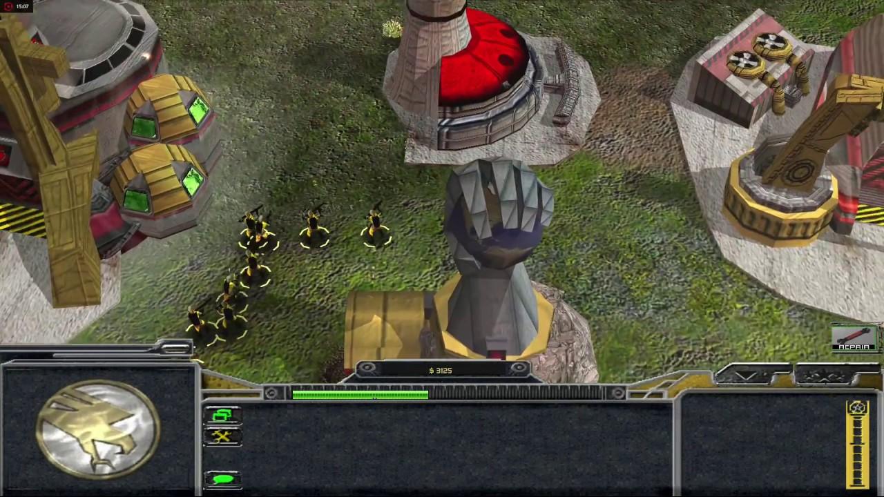 Command & Conquer - Tiberian Dawn Redux - 3D HD Remake Gameplay