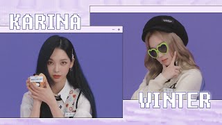 1교시 자기소개📓 KARINA & WINTER | ✨MY time, aespa!✨