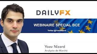BCE : la paire EUR/USD chute après l'intervention de Mario Draghi