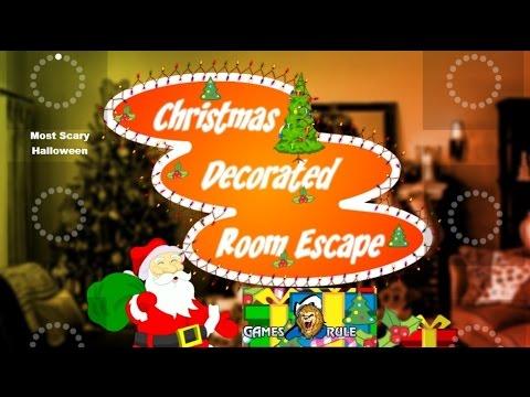 Christmas Decorated Room Escape Walkthrough