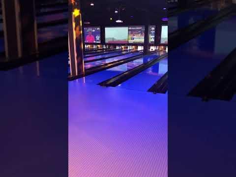 Be Media AV - Bowling Lanes Star Gobo Lights