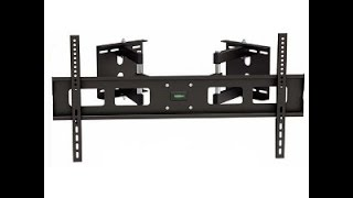 309041BK - Large Full-Motion Corner TV Wall Mount: 37