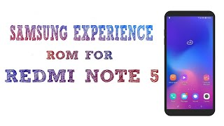 Samsung experience for redmi note 4