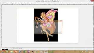 How to draw a winx girl ( no wings )