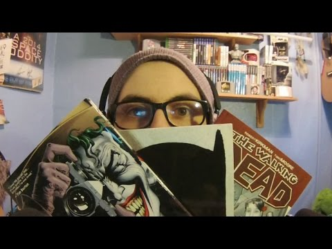ASMR Ear to Ear Whispered Comic/Graphic Novel Collection! :D
