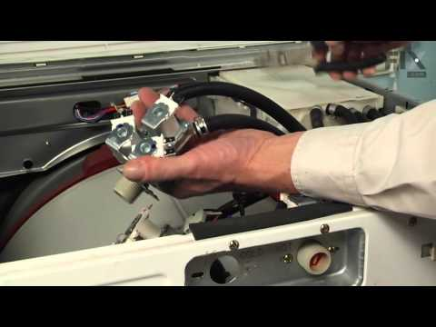LG Washer Repair – How to replace the Water Inlet Valve