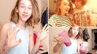 Super Tasty Smoothie • June Vlog {Day 25} Thumbnail