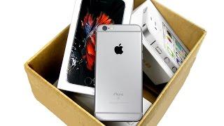 iPhone 6S из США. Распаковка!