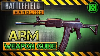 ARM Review (Gameplay) Best Gun Setup | Battlefield Hardline Weapon Guide (BFH)