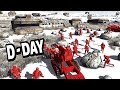 Mountain D-Day Invasion ! The Glorious Red Army Men Attack - AMOW
