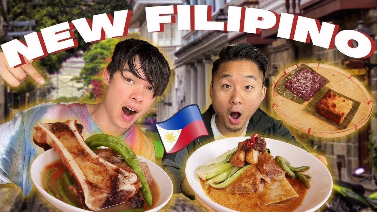 Download MODERN Filipino VS CLASSIC Filipino Food! (MUST SEE!)