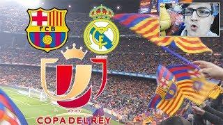 EL CLASICO STADIONVLOG | FC Barcelona - Real Madrid Copa del Rey | ViscaBarca