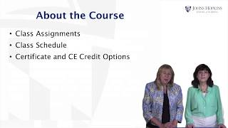 Course Introduction - Living with Dementia by JHU #1