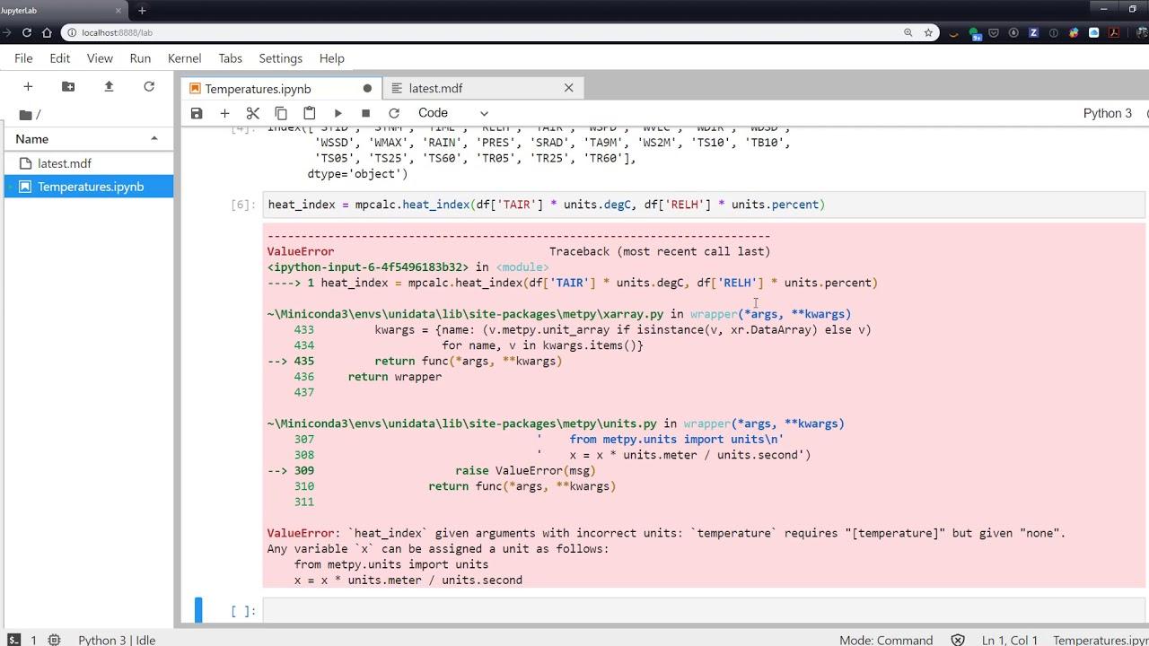 Unidata Developer's Blog