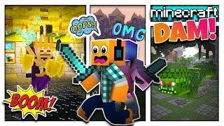 "Minecraft DAM #8 - ""WALKA Z 3 BOSSAMI?!"""
