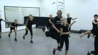 фрагмент урока tapdance