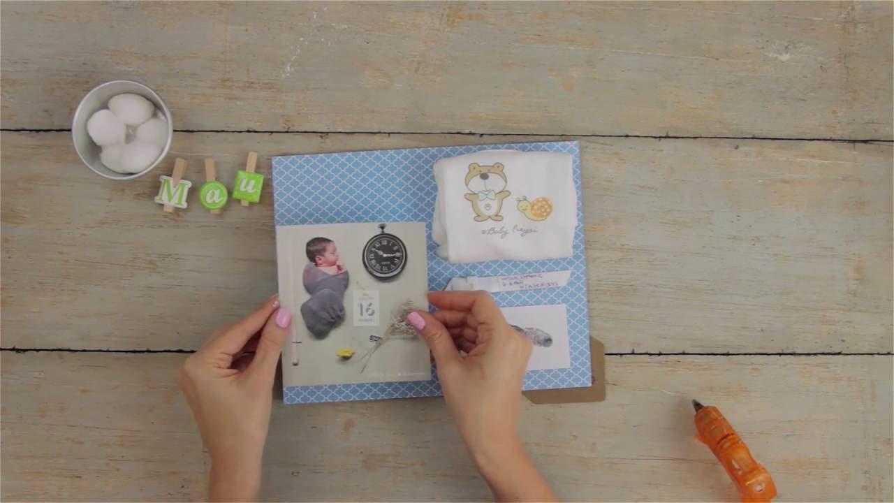 Marco con los recuerdos de tu recién nacido - YouTube