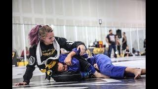 Jiu Jitsu Girl Submits Boy at Newbreed Ultimate Challenge