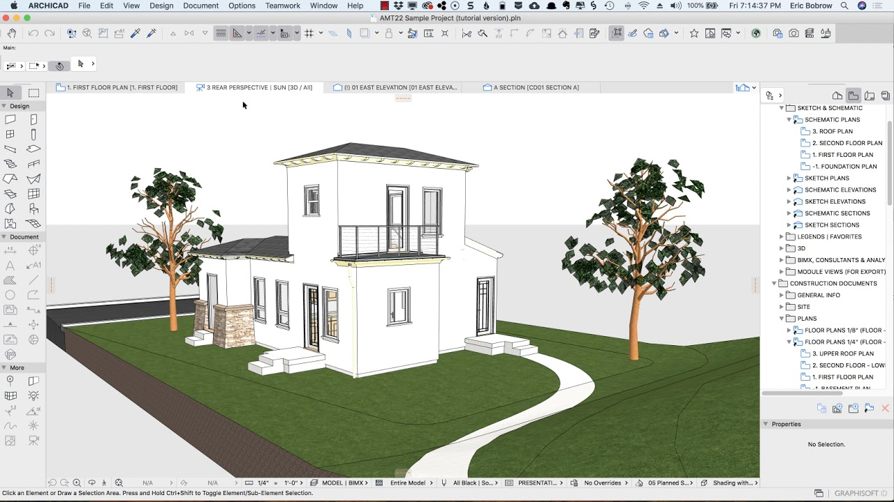 ARCHICAD Design | Views 1: Simplified Drawings and Sketches