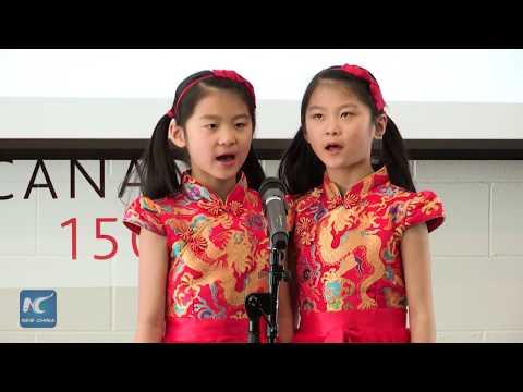 Students show proficiency in Mandarin in Toronto