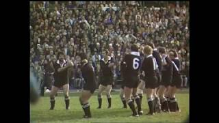 New Zealand vs Ireland - Rugby Test 1976 (Highlights)