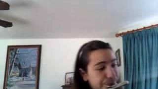 Me playin my flutie tootie