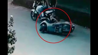 Cae en Villavicencio ladrón de bolsos que atacaba a mujeres en moto