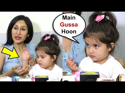 Karanvir Bohra Daughter Bella Gets Angry And Hits Mother Teejay Sidhu