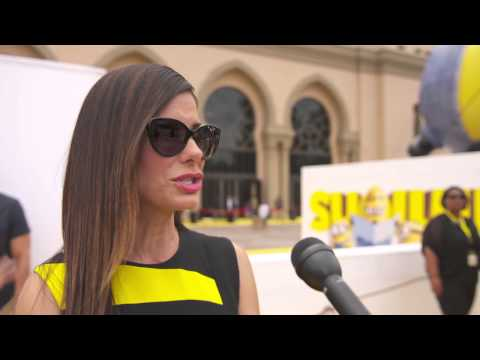 "Minions: Sandra Bullock ""Scarlet Overkill"" US Movie Premiere Interview"