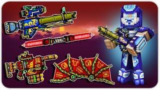 New Oriental Battle Pass Weapons Damage & Gameplay - Pixel Gun 3D
