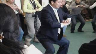 Qi Gong Short clip with Dr. Huo and Dr. Corrales, LA, Emperor