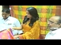 Actress Catherine Glitters at a Shopping Mall in Vizag