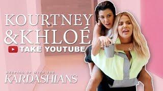 Khloé & Kourtney Kardashian's Craziest Shenanigans | KUWTK | E!